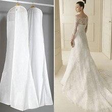 Очень большая одежда, свадебное платье, длинный защитный чехол для одежды, чехол для свадебного платья, пылезащитный чехол, сумка для хранения для свадебного платья es