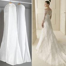 cc14abcc4200620 Очень большой одежда свадебное платье с длинным одежда протектор чехол свадебное  платье Пылезащитная крышка охватывает сумку