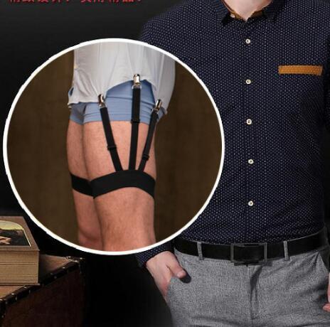Holder Shirt Shirt Suspenders Garters Wrinkle-free