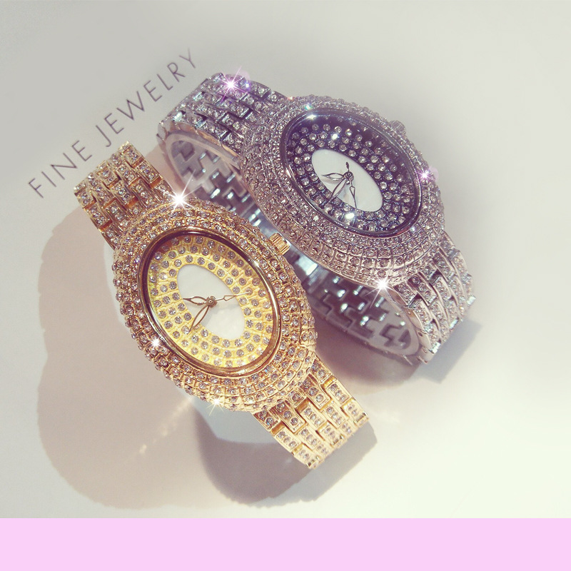 2016 Arrival Famous Brand Full Diamond Oval Watch Women Luxury Austrian Crystals Watch Lady Rhinestone Charm Bangle Bracelet new arrival grace bs brand full diamond luxury bracelet watch hot sale women 14k austrian crystals watch lady rhinestone bangle