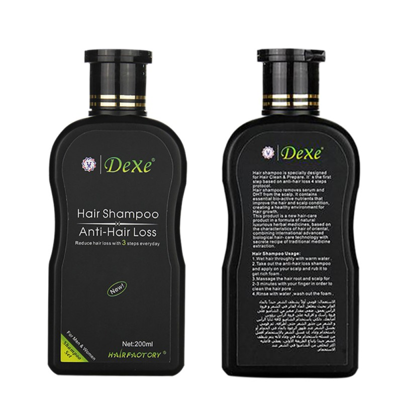 200ml Herbal Hair Growth Products Hair Loss Shampoo Improve Hair Quality Natural Extract Shampoo Hair Care 2
