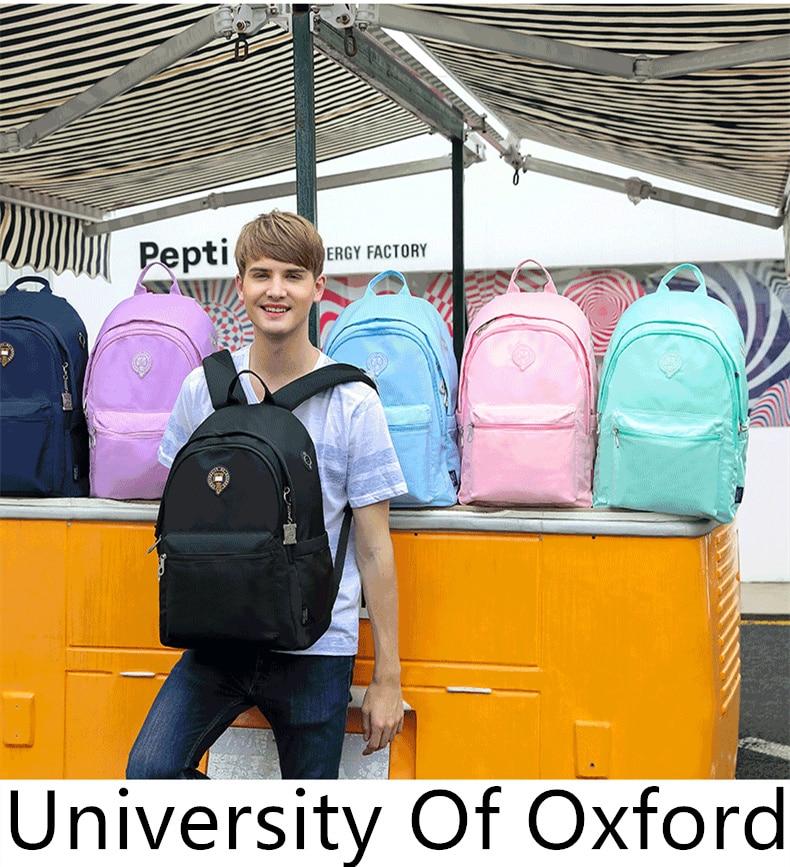 옥스포드 대학 초등/중간 어린이 안전 캐주얼 학교 가방 컴퓨터 어깨 배낭 포트폴리오 소년 클래스 3 6-에서학교가방부터 수화물 & 가방 의  그룹 1