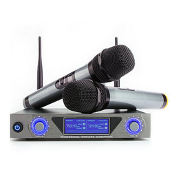 2 channels wireless microphone handheld professional microphone system frequency  UHF500-599Mhz or 900Mhz-999Mhz KTV microphone