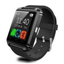Bluetooth Smart Uhr U8 Höhenmesser Barometer Trinken Uhr Armbanduhren Wasserdicht Passometer Smartwatch FÜR IOS Android-Handy