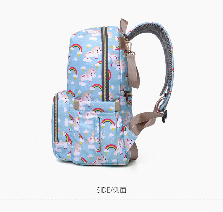 2019 NEW Diaper Bag Mummy Maternity Nappy Bag Women Backpack Nappy Large Capacity Baby Waterproof Travel Shoulder Stroller Bag (18)
