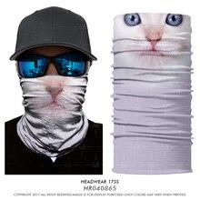 3D Seamless Magic Headband Dog Tube Face Mask