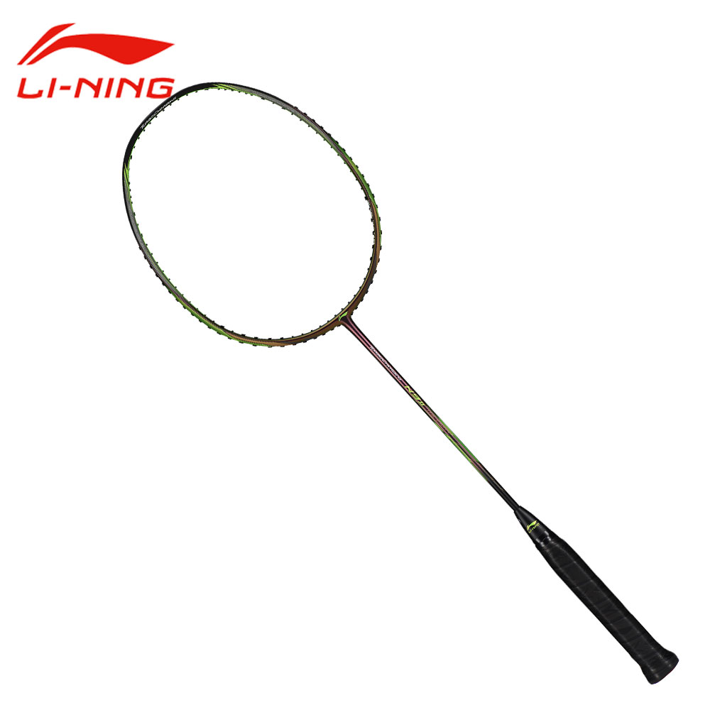 LINING Sudirman Cup N9II NEW COLOR Carbon Badminton Rackets Heavy Head Offensive Type Racket LINING Sport Single Racquet AYPM026 quality broken wind chinese dragon badminton rackets carbon fiber professional offensive racquets single racket q1013cmk