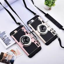3D Retro Camera Imitation Phone Cases For iPhone XS MAM XR X 8 7 6 6s Plus 5 5s SE