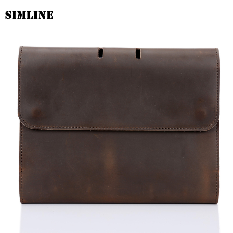 High Quality Vintage Handmade Genuine Leather Notebook Cowhide Cover A5 Loose Leaf Traveler's Diary Diaries Journal Gift For Men high quality 5n m 42 42 119 7mm brushless dc motor with planetary gearbox reduction ratio 104 8