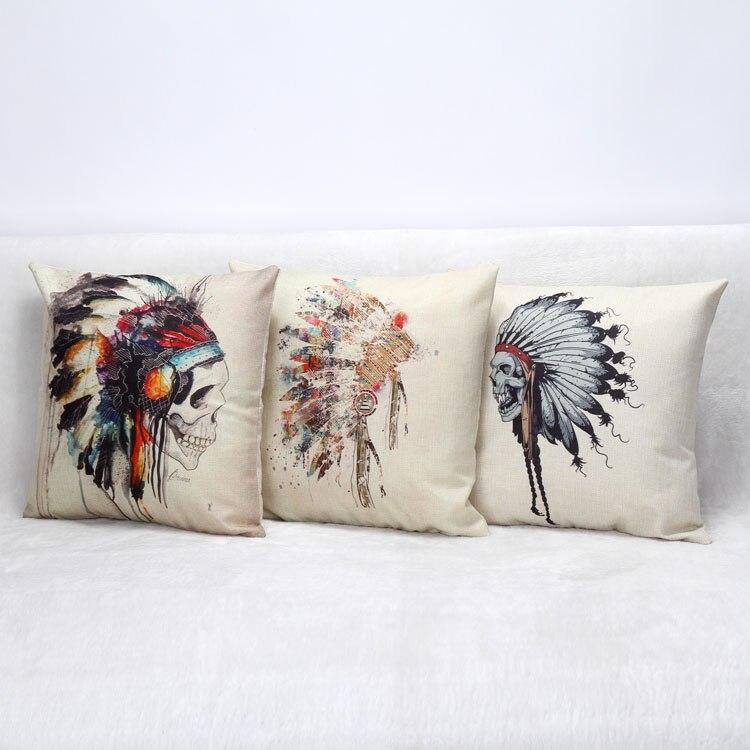 Lino Fundas de colchón decorativo Mantas Fundas De Almohada Mantas ...