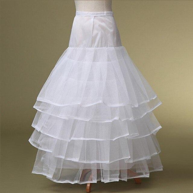 2015 En Venta Crinolina Para El vestido de Novia En Stock 5 Capas de Tulle de La Enagua Para Los Vestidos De Boda Envío Gratis