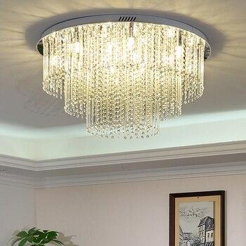 Crystal Lamparas De Techo LED Ceiling Light Fixtures ...