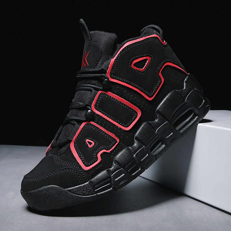 VSIOVRY New Profession Basketball Shoes Men Air Cushion High Basketball Ankle Boots Jordan Sport Shoes for Men Fitness Sneakers
