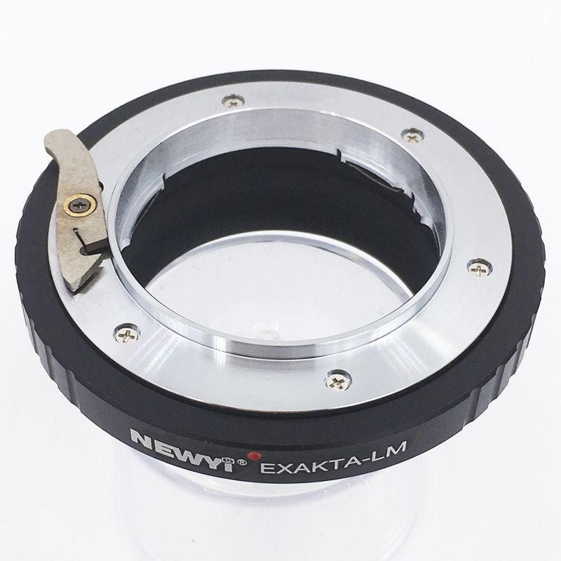 Image 2 - NEWYI Adapter Ring For Exakta Lens To L eica M L/M M9 M8 M7 M6 & Techart Lm Ea 7 Camera Lens Ring Accessories-in Lens Adapter from Consumer Electronics