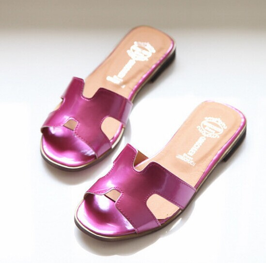 Nice Nice Style Summer Stuffies open-toed Casual woMen Sandals woMen Slippers Shoes H Words Fashion H2