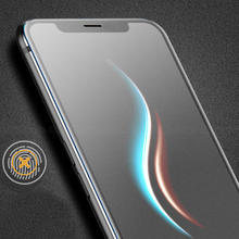UVR 100PCS For iPhone XS Max XR Matte Frosted Tempered Glass Screen Protector Film for App