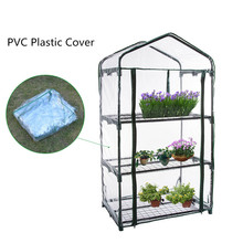 Walk-In Green Hot Plant Garden Greenhouse House Shed Storage PE Cover Roof 69 x 49 x126cm Keep Warm Keep Out Bugs Insects