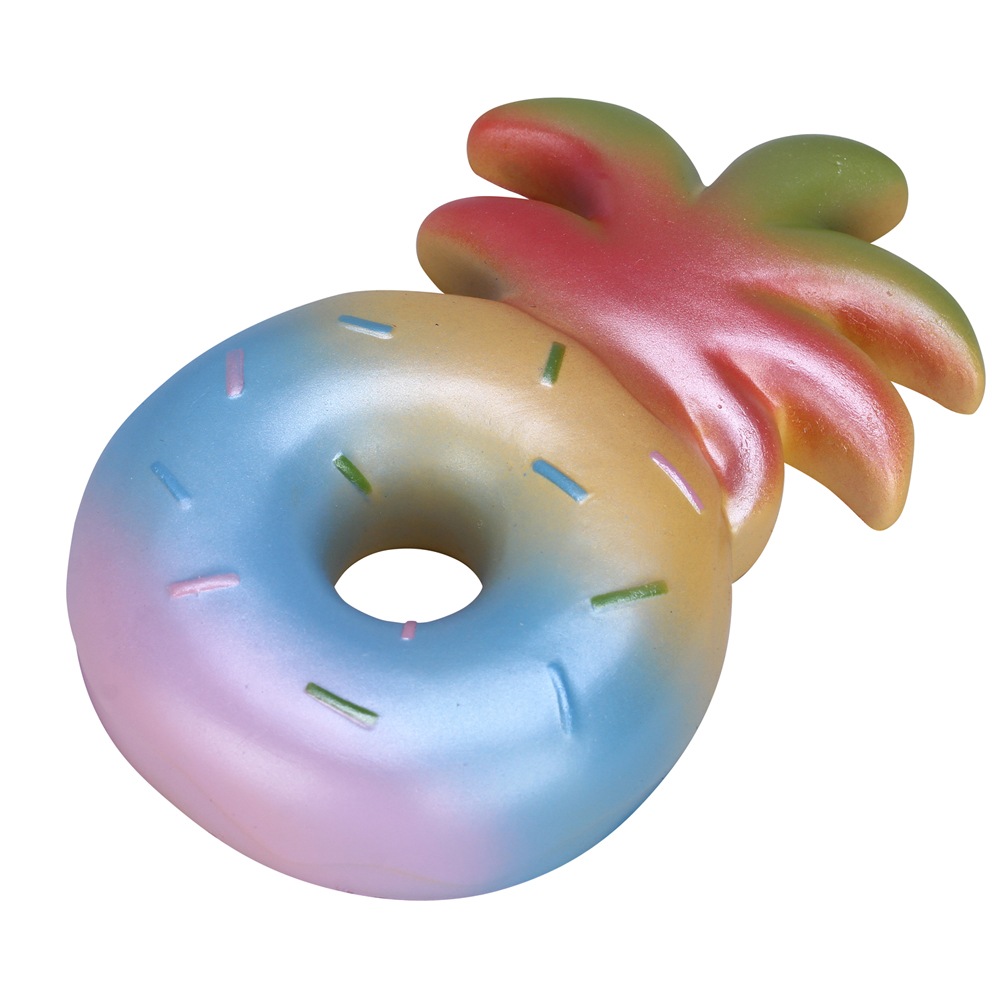 Image 5 - 1PC Retail Vlampo Pineapple Donut Squishy Squishies 16CM Slow Rising Squishy Toys Rainbow Pink Yellow Licensed Original PU Foam-in Gags & Practical Jokes from Toys & Hobbies