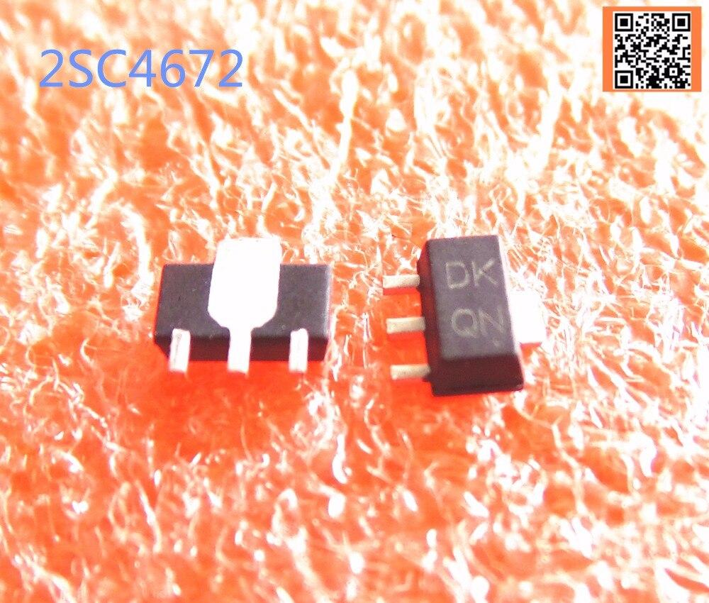 10 teile/los großen verkauf original 2SC4672 kennzeichnung DK SOT89 TRANS NPN 50V 2A gute qualtiy