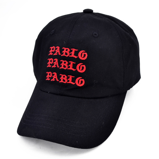 new I Feel Like Pablo Red Hat Dad Baseball Cap Kanye West 350 boost TLOP men  women Snapback Cap hats c066f6b9cd0a