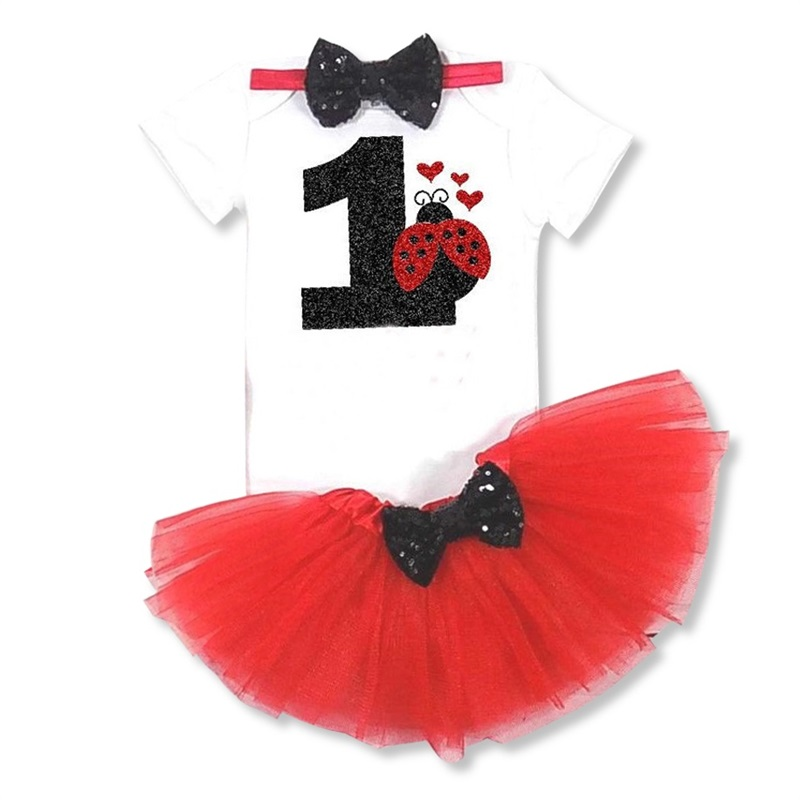 HTB1CU FSpXXXXcoapXXq6xXFXXXi - 0-12M Infant Baby Girl Clothes 4pcs Clothing Princess Dresses Stocking Headband Newborn Kid Clothes First Birthday Party Outfits