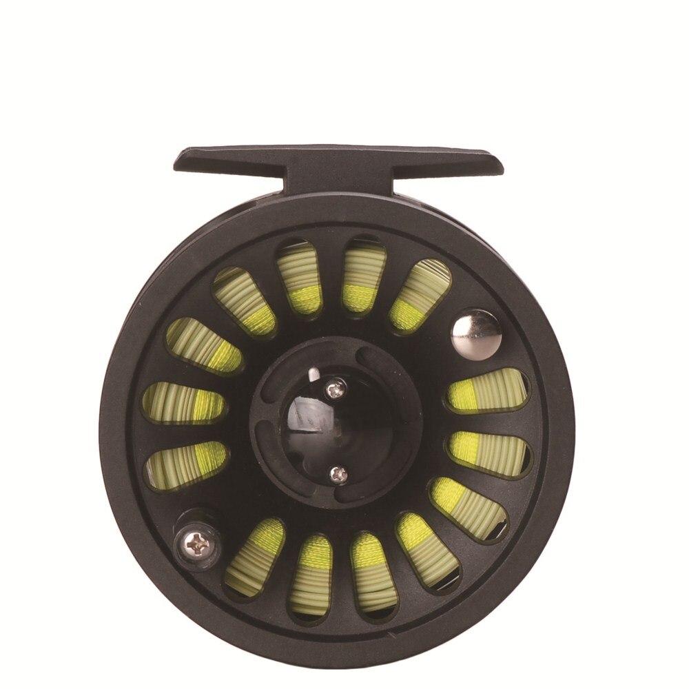 Taf 85mm conjunto carretel de pesca com