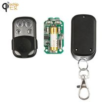 ФОТО dc 12v portable 433mhz garage door remote control presentation universal car gate learning code remote duplicator opener key fob