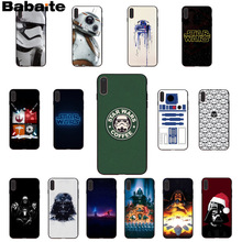 6655c616e11 Babaite Star Wars TPU de silicona suave cubierta de la caja del teléfono  para Apple iPhone 7 6 6 S Plus X XS X MAX 5 5S SE XR te.