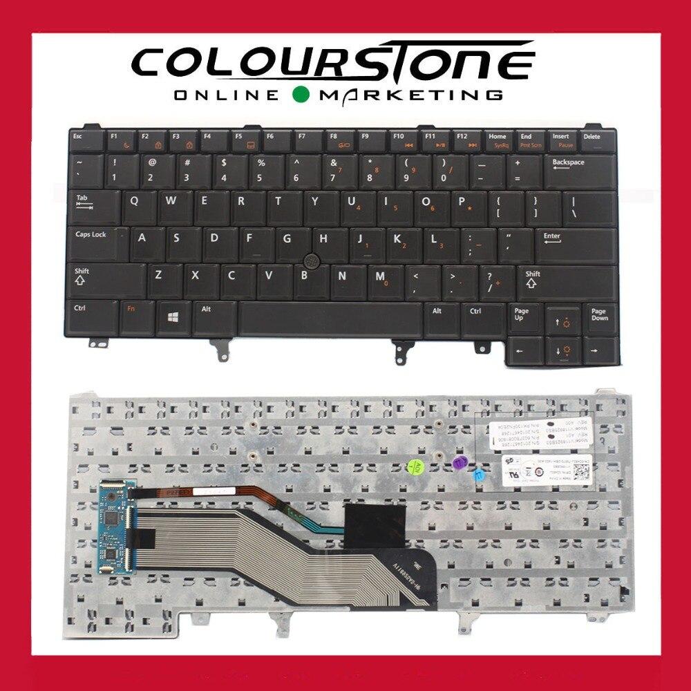 US keyboard for Dell Latitude E6420 E6320 E5420 E6330 Point sticker V118925BS3