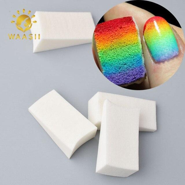 1pc/lot Nail art soft Sponges Makeup sponge Manicure Nail Art ...
