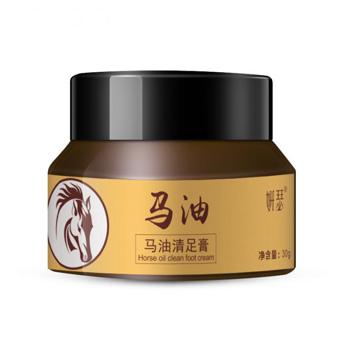 18 Horse Oil Feet Cream for Athlete Feet Itch Blisters Anti-chapping Peeling Antibacterial Ointment 12