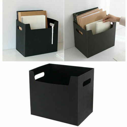 Us 5 21 Portable Pp Books File Box Paper Holders Office Doents Desktop Organizer Kit Clothes Storage Book In