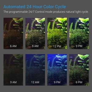 Image 3 - NICREW مصباح ل حوض السمك الصيد LED الإضاءة 24/7 ساعة الآلي مع تحكم خزان الأسماك ضوء ل حوض السمك 110 فولت 240 فولت 30 72 سنتيمتر