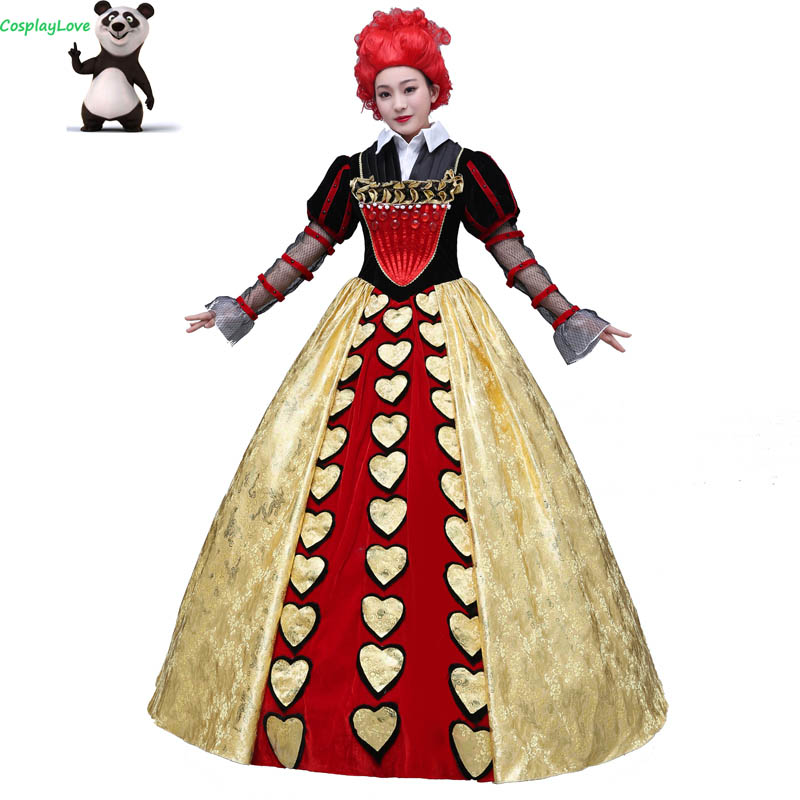 CosplayLove Movie Alice in Wonderland Custom-made The Red Queen Dress Cosplay Cosplay Costume For Kid Adult Women