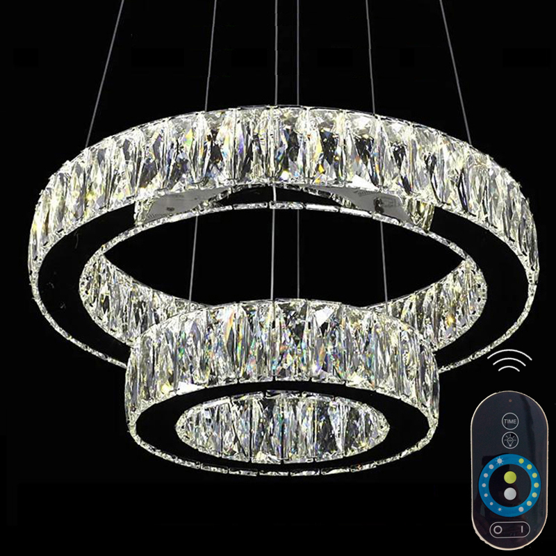 Modern Led Crystal Pendant Chandelier