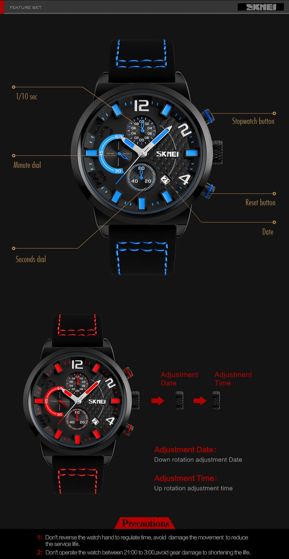 Luxe Horloges States Relogio 6