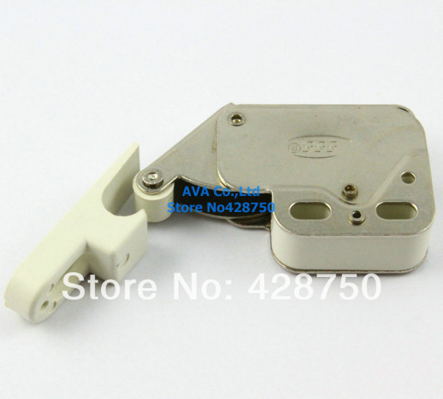 2 Pieces Press Open Door Catch Tip Touch Push Latch For Cabinet Cupboard