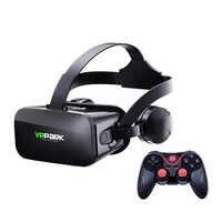J20 Casque VR lunettes de réalité virtuelle lunettes 3D Casque Casque pour Smartphone Google carton stéréo pour xiaomi huawei