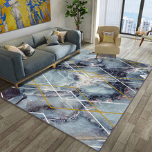 Modern Home Carpet 3D Printed Abstract Art Carpets for Living Room Bedroom Anti-slip Floor Mats Kitchen Area Rugs
