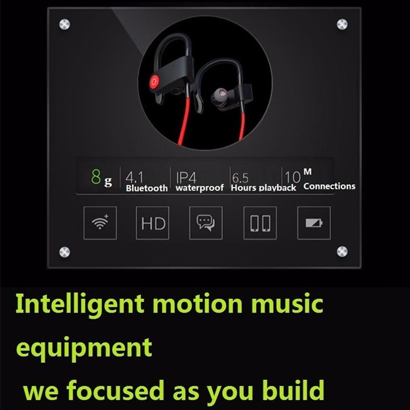 M&J մաքուր Bluetooth 4.1 անլար ականջակալ - Դյուրակիր աուդիո և վիդեո - Լուսանկար 5