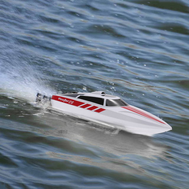 Remote Control RC Boat Volantex Vector 28 2.4GHz Brushed 30km/h High Speed Pool RTR RC Racing Boat Speedboat Toys Gifts