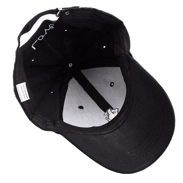 Adjustable Men Women Hand Love Hat Hip Hop Curved Baseball Cap Color:pink Women's Hats Apparel Accessories