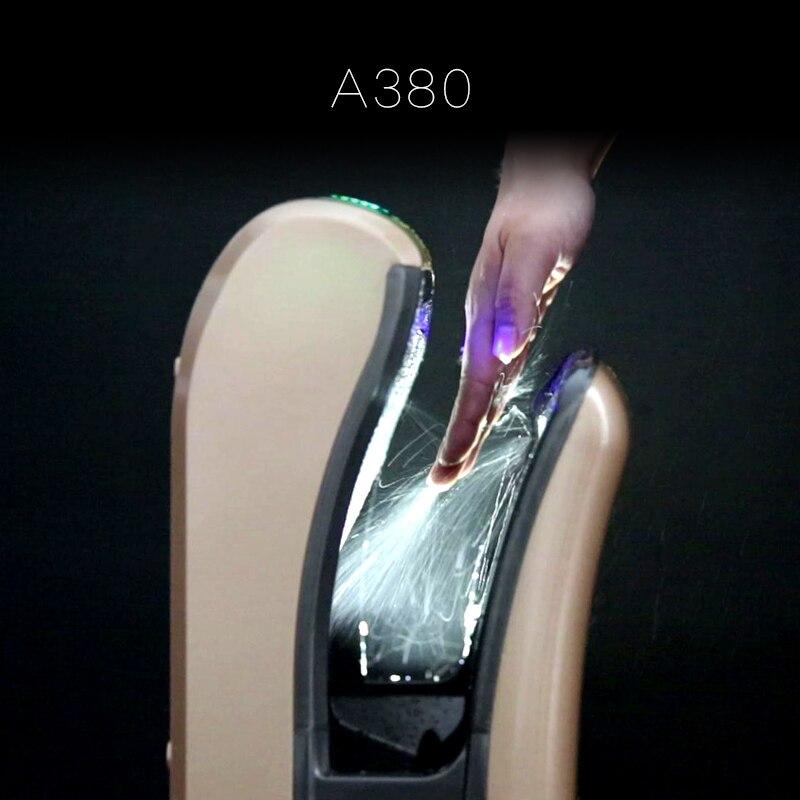OSHA полностью автоматическая сушилка для рук индукции отель высокого Скорость Двусторонняя Jet Тип сушки рук машины