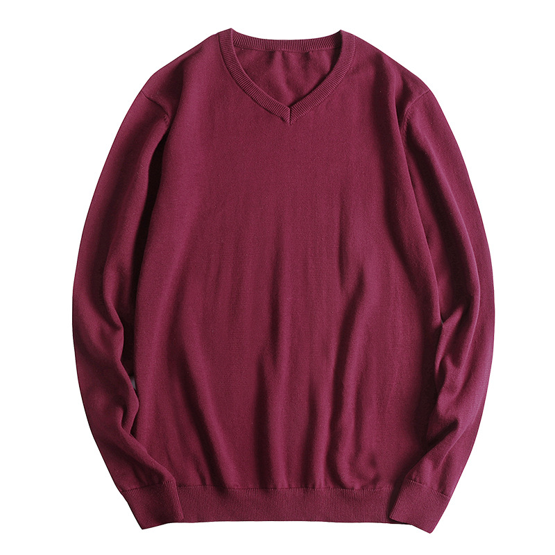 Fit 45-150 KG BODY Sweater Men Fashion 2019 Classic New V Neck Standard Wool Pullovers Plus ASIAN Size L-5XL 6XL 7XL 8XL