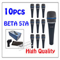 10pcs wholesale High Quality Beta 57A Clear Sound Handheld Wired Karaoke Microphone