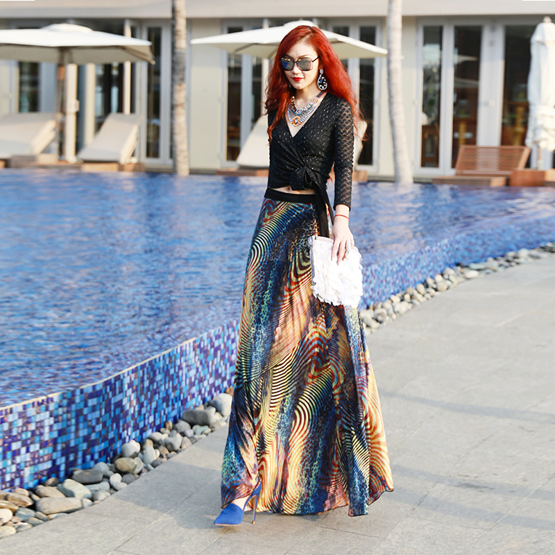 Online Get Cheap High Waisted Maxi Skirt -Aliexpress.com | Alibaba ...