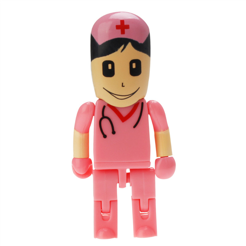 Image 5 - Crazy Hot Cartoon Anesthesiologist Doctor USB Flash Drive 32GB 64GB 128GB PenDrive 4GB 8GB 16GB Flash Memory USB 2.0 Pen Drive-in USB Flash Drives from Computer & Office