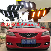 Video 2007 2008 2009y for mazda 3 MAZDA3 daytime light,car accessories,axela MAZD3 fog light,LED DRL fog for MAZDA3 HEADLIGHT