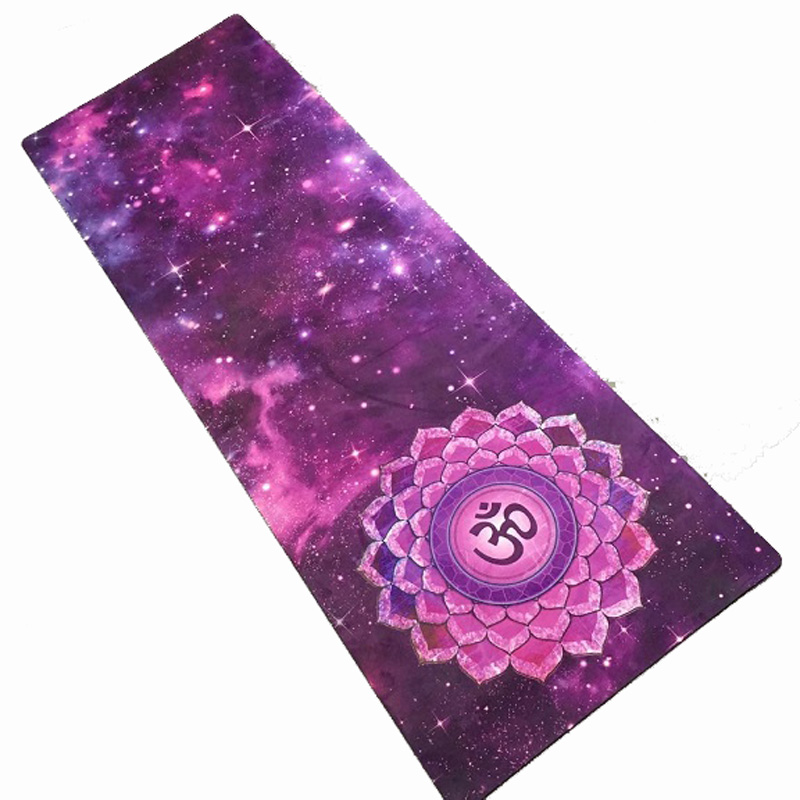Purple Sky Suede Skin Natural Rubber Eco Friendly Slip