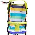 Assento Carrinho de Bebê Carrinho de Almofada de algodão Macio e Espesso Infantil Bonito Rainbow Color Acessórios Almofada Almofada Do Assento de Carro BB Carrinho De Bebê